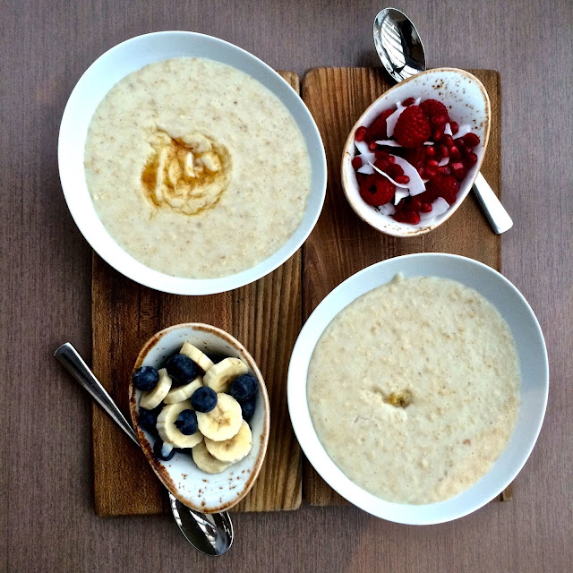 porridge bar at darwin brasserie