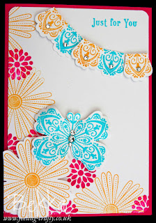 Three Things you can do with the Stampin' Up! Blossom Punch - www.feeling-crafty.co.uk