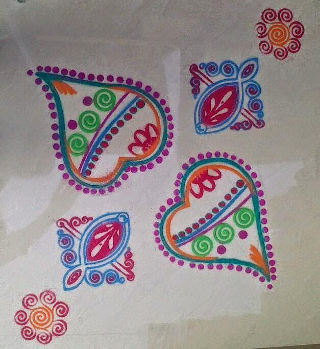 Yojna Kalaskar Kolam Designs 2