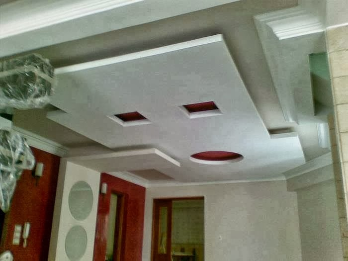 D coration salon platre d co sphair for Dicor fou plafond