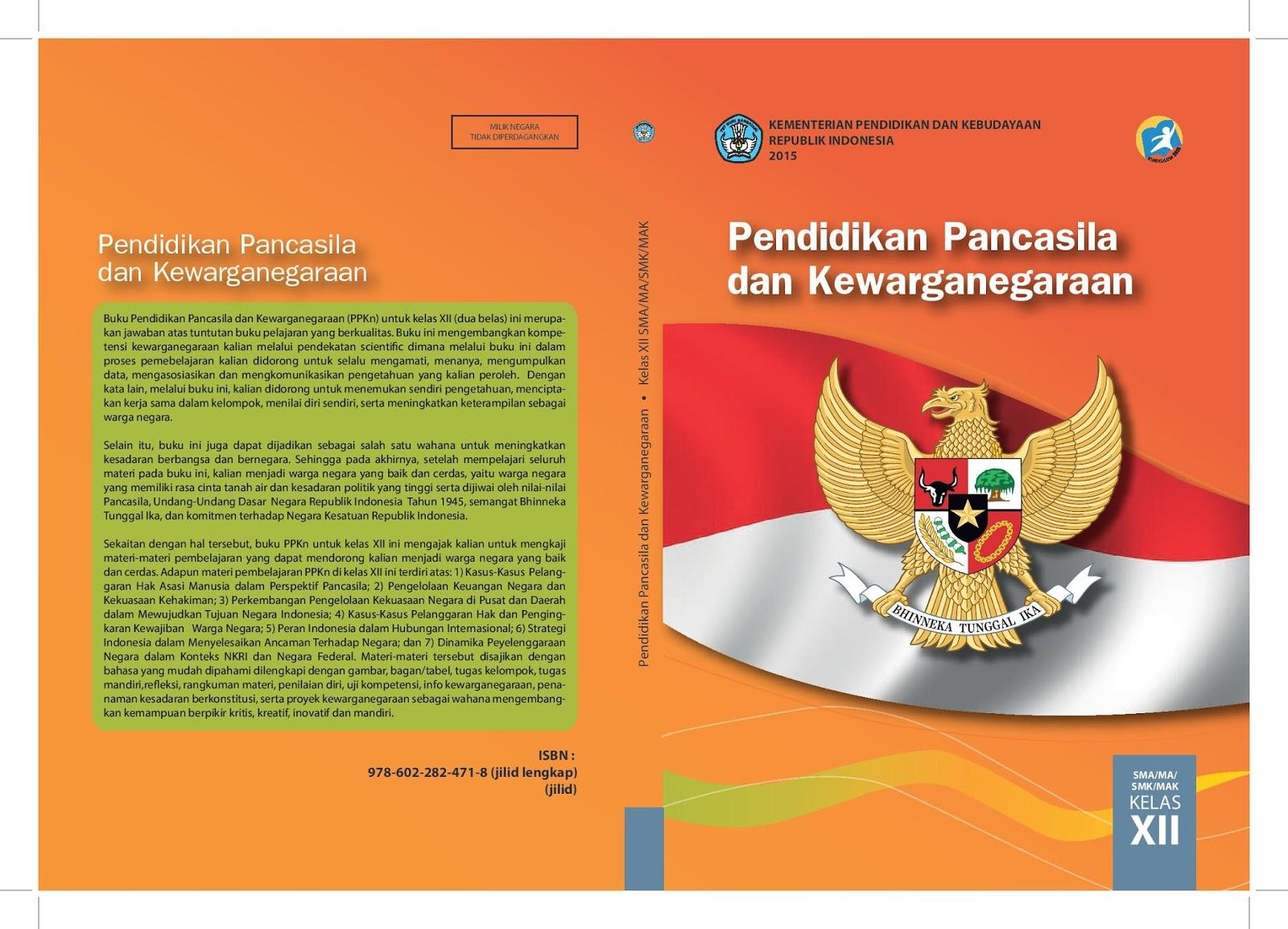 Download Buku Ppkn Kelas Xii Kurikulum 2013 Buku Guru Dan Buku Siswa Ruang Kimia