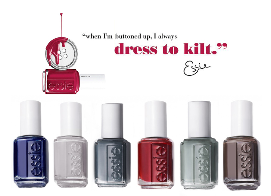 Stylish Nail Collection: Essie\'s Fall 2014 \