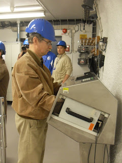 Kiirguskontroll Olkiluoto tuumajaamas
