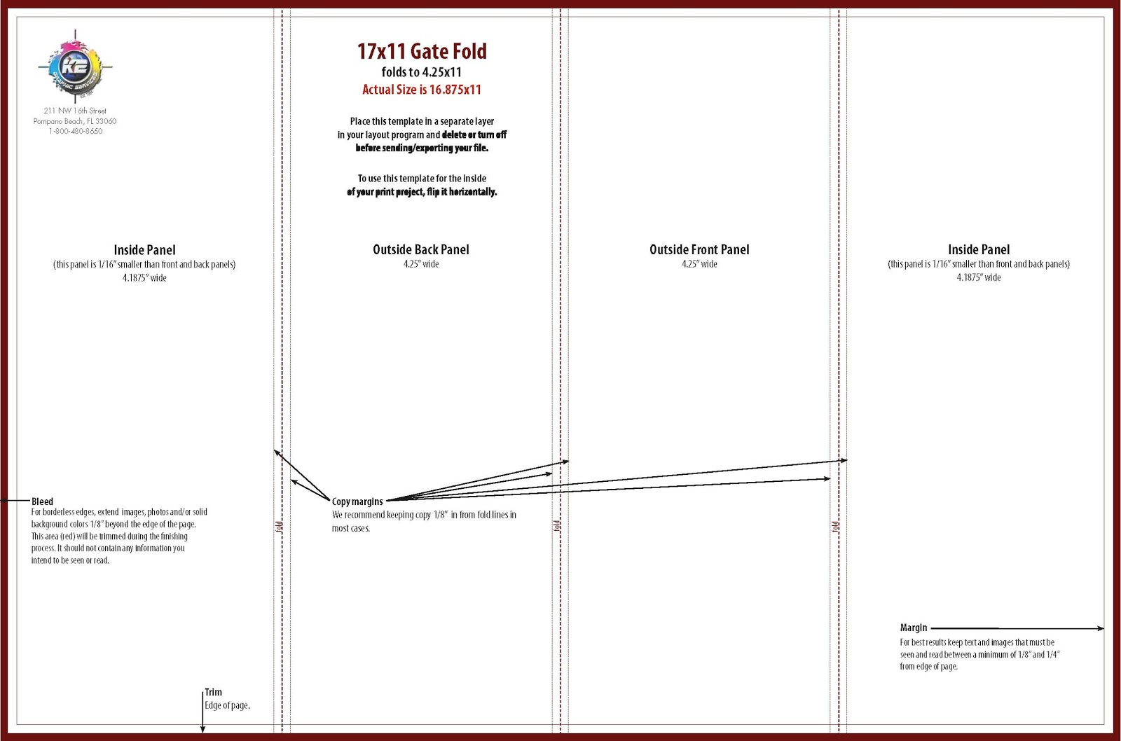 three panel brochure template - brochure kiosk pics brochure gatefold