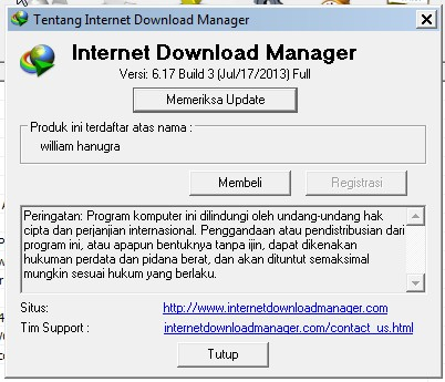 The application encases all the features specific to a decent download