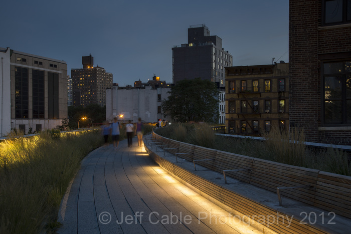 jeff cable s blog new york city an evening on the high line