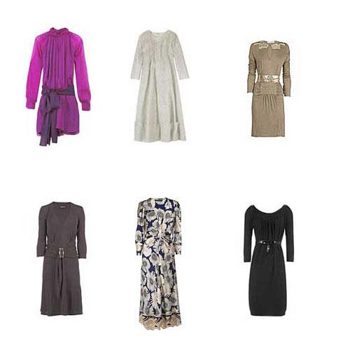 dicas de Vestidos para Inverno