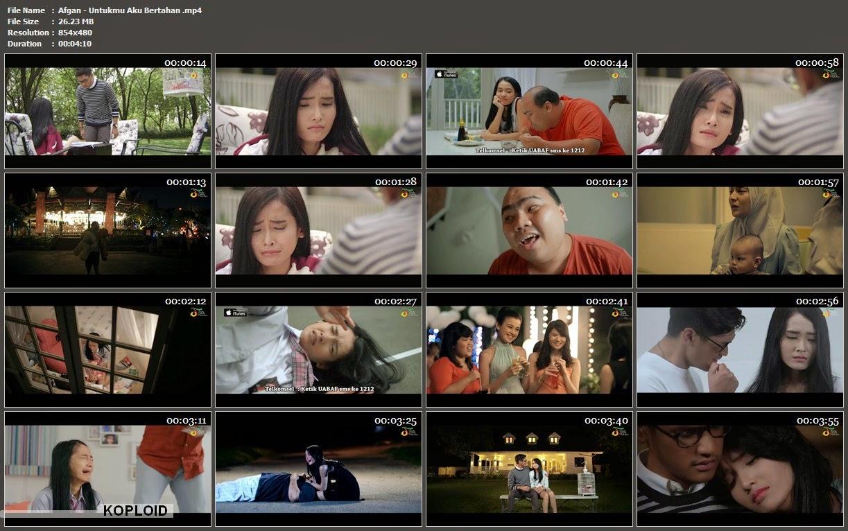 Download Video Klip Musik Afgan - Untukmu Aku Bertahan Mp4
