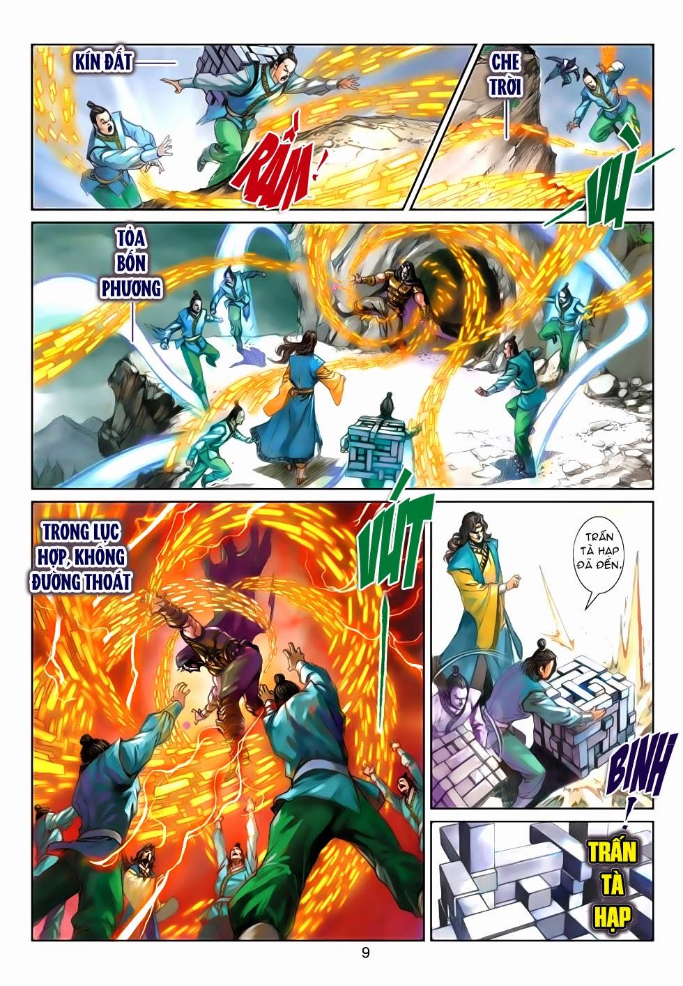 Thần Binh Tiền Truyện 4 - Huyền Thiên Tà Đế chap 5 - Trang 9
