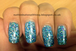 YCC Blue Glitter 109