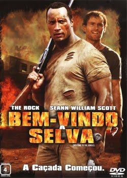 Filme Poster Bem-Vindo à Selva DVDRip RMVB Dublado