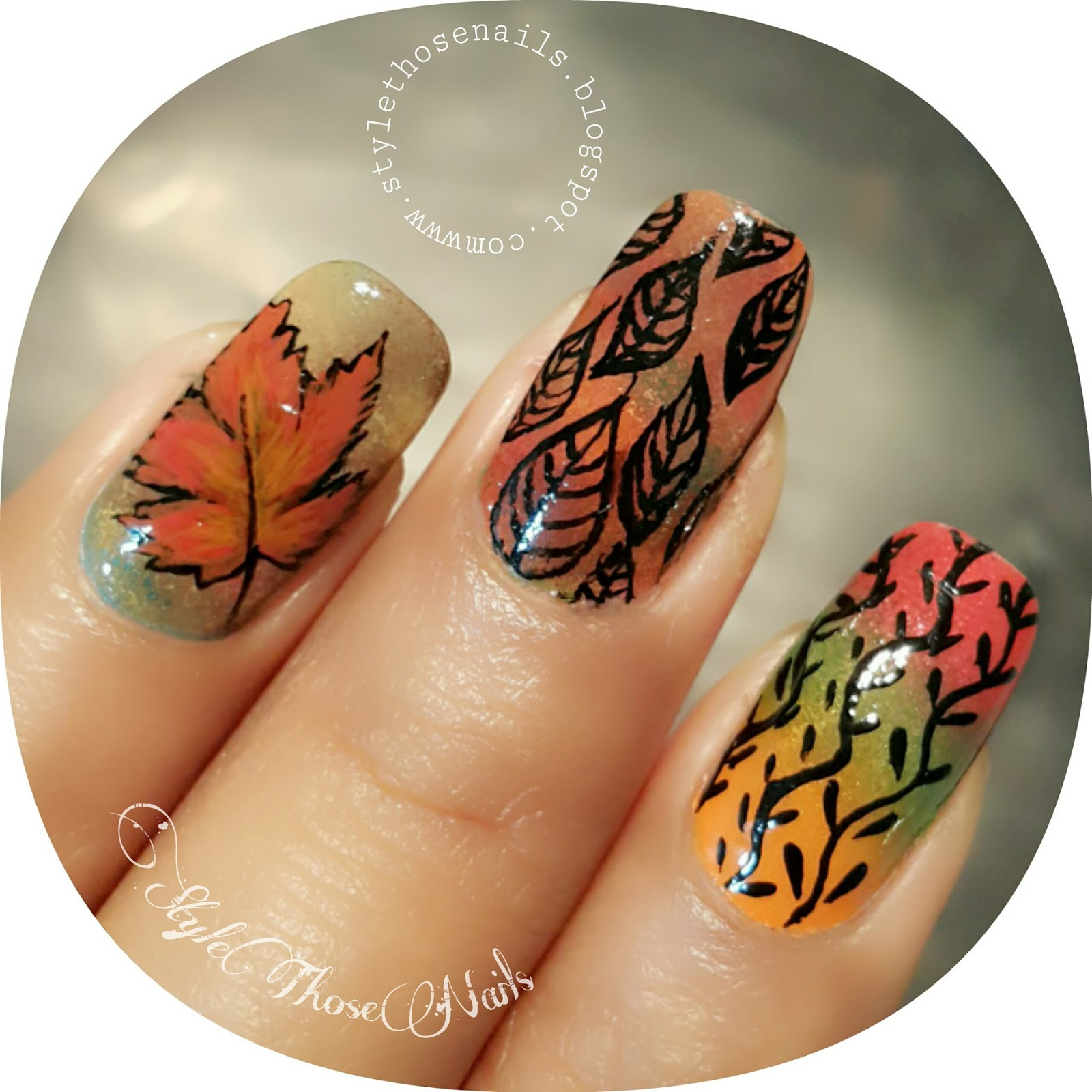 Style Those Nails: fall nails