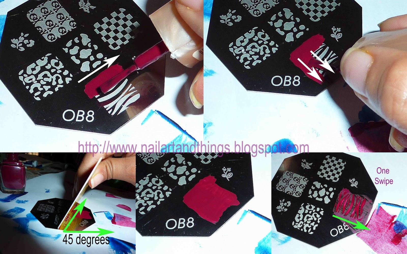 Nail Art Pictures: stamping nail art