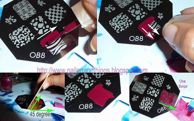 Advanced Nail Stamping Tutorial 111