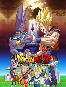 Capa do Dragon Ball Z A Batalha dos Deuses 2013 Dublado AVI + Torrentfilmes