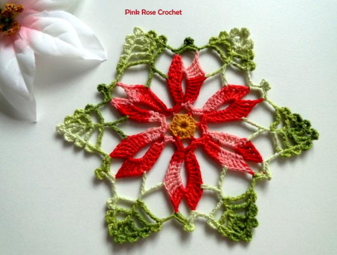 TRICO y CROCHET-madona-mía: Centro de mesa a crochet decoración de ...