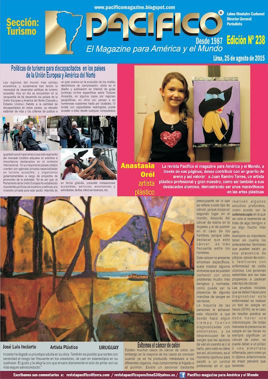 Revista Pacífico Nº 238 Turismo