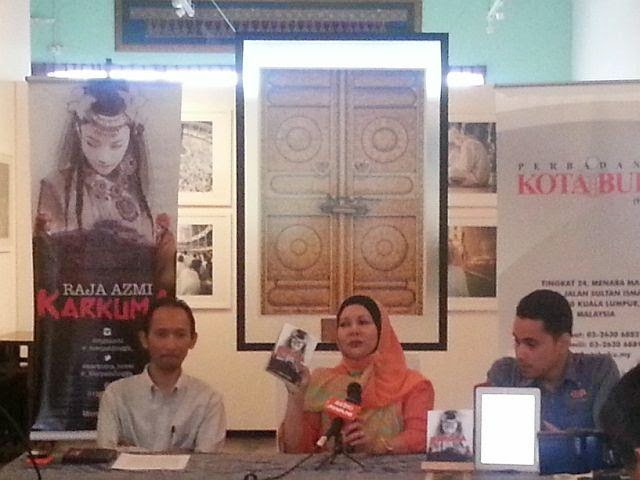 Novel Karkuma Raja Azmi Tetap Punya Elemen Cinta dan Seks!