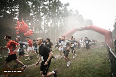 Demon Run London 5 mile start