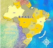 BRASIL. Postado por Kenzo às 11:53 (mapa brasil)