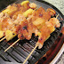 Grilled Shrimp with Pineapple and Citrus Glaze