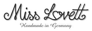 Miss Lovett, Logo, Rockabilly, Vintage