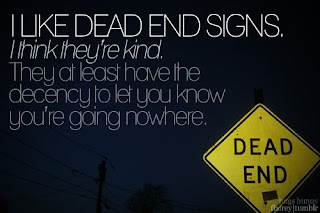 dead end relationship signs yahoo