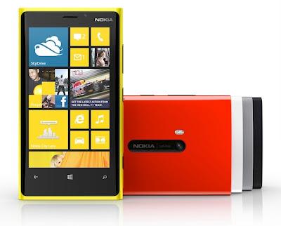 Spesifikasi Nokia Lumia 920