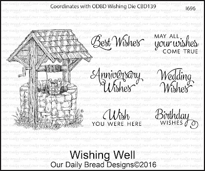 Our Daily Bread Designs Stamp Set: Wishing Well