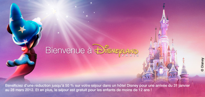 le blog malin voyage priv vente sp ciale s jours disneyland du 19 au 23 janvier 2012. Black Bedroom Furniture Sets. Home Design Ideas
