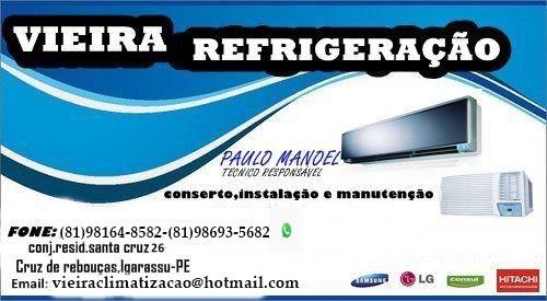 vieira refrigeração