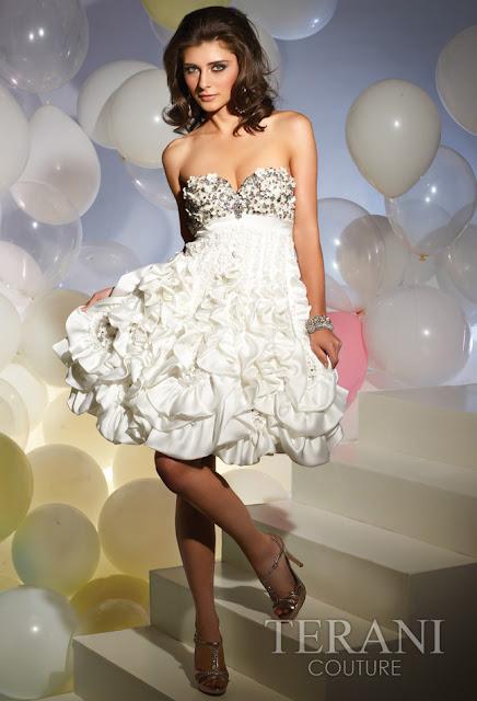 Vestidos cortos de fiesta terani 2012 13 - Gen� K�z Abiye Modelleri