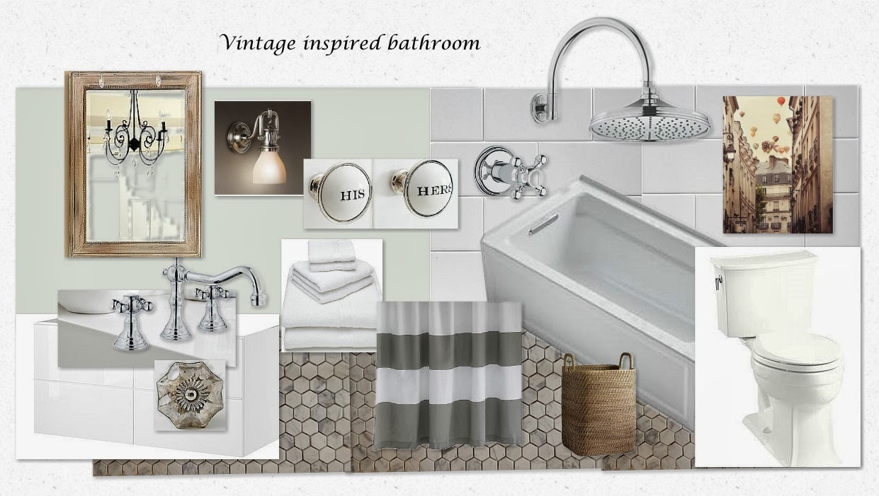 Client project bathroom reno vanessa francis design for How to reno a bathroom