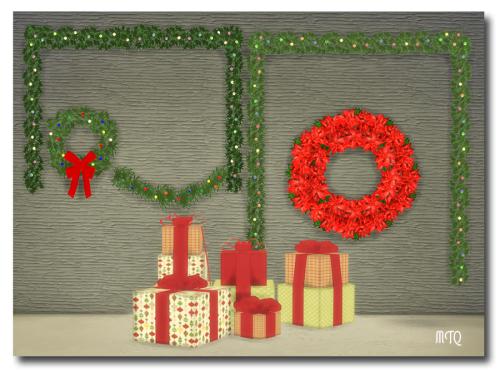 Christmas Decor Sims 3 : My sims ts musluvcatz s outdoor christmas
