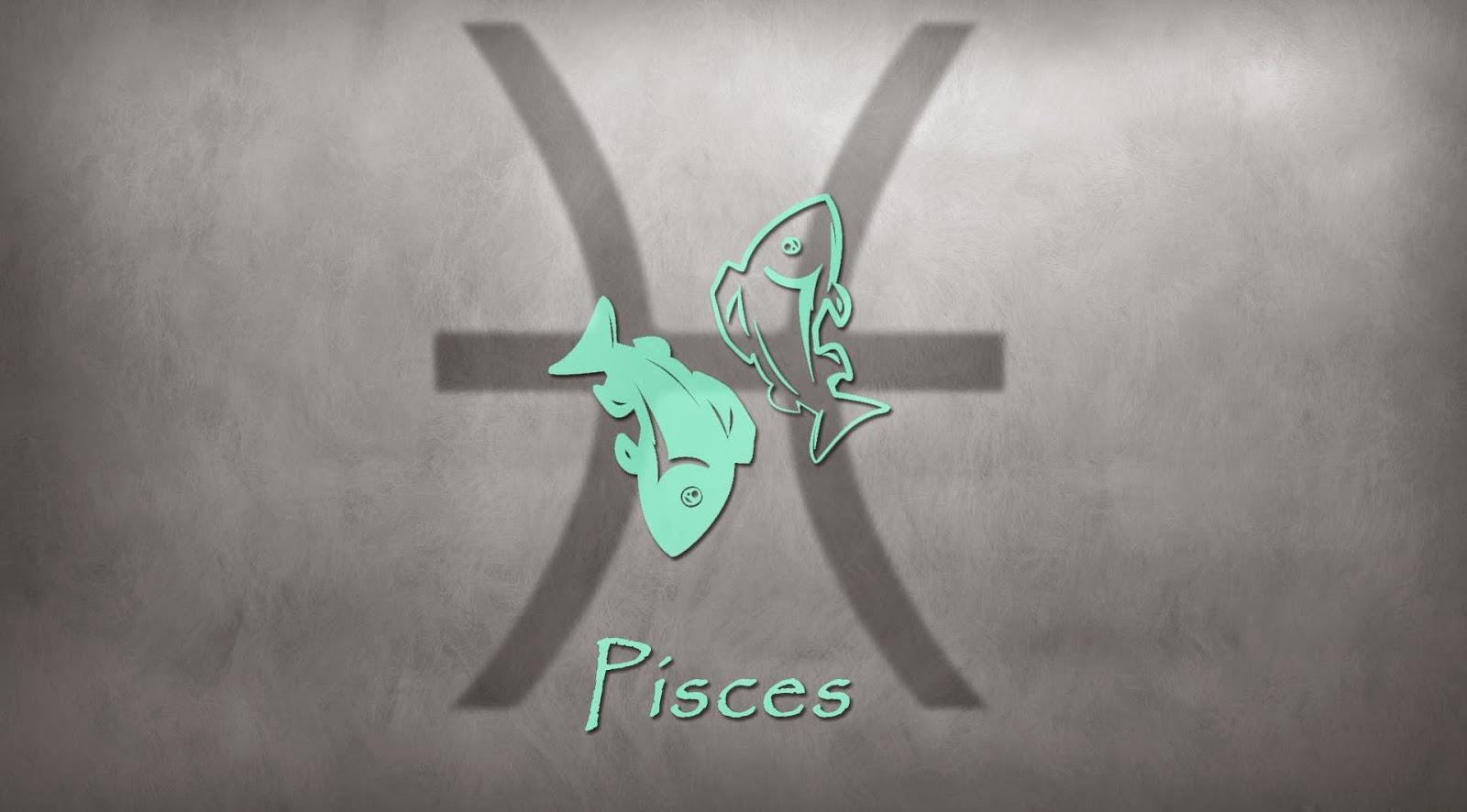 Signo Piscis HD para Tatuaje a Color