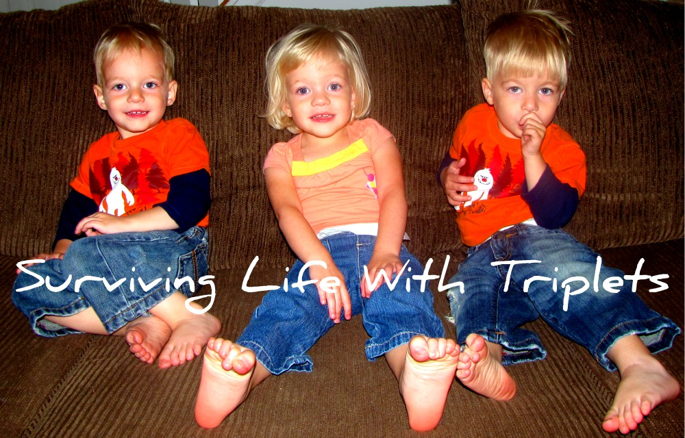 Surviving Life With Triplets