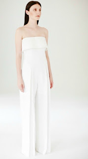 People Tree S/S 2014 Atelier Collection - Fair Trade Clothing - White Jumpsuit