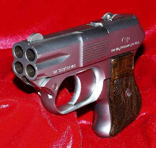 COP 357 Derringer multiple barrel firearm pistol