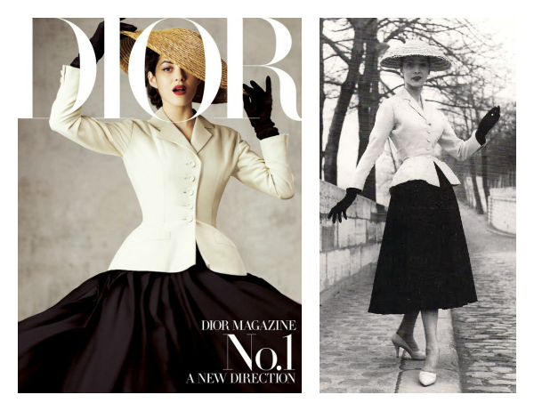 new look Dior