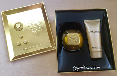 Paco Rabanne Lady Million 80ml + Body Lotion