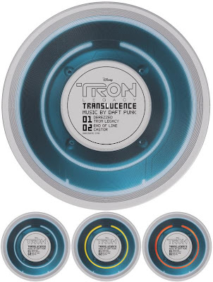Record Store Day 2011 Exclusive TRON: Legacy Translucence Identity Disc Vinyl Record by Daft Punk