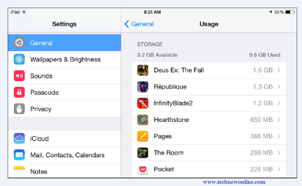 Clean IPhone, IPad To Regain Storage Space 1