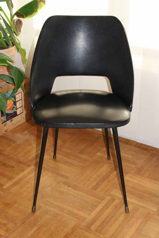 je chine pas en chine chaise en ska noire. Black Bedroom Furniture Sets. Home Design Ideas