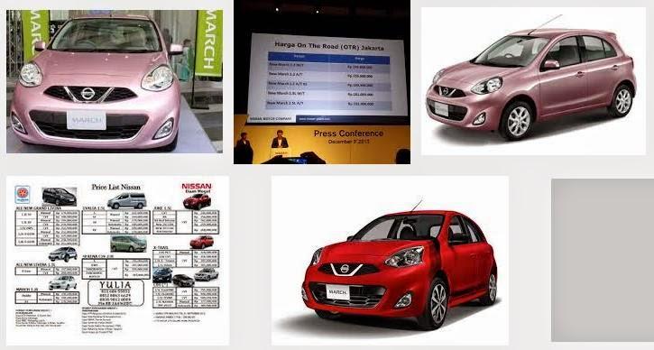 Promo Harga Kredit Nissan March 2014 - Harga Nissan Juke