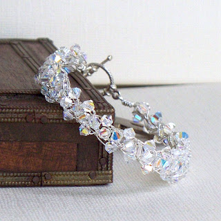 AB Crystal Braidlet compared to tennis bracelet affordable