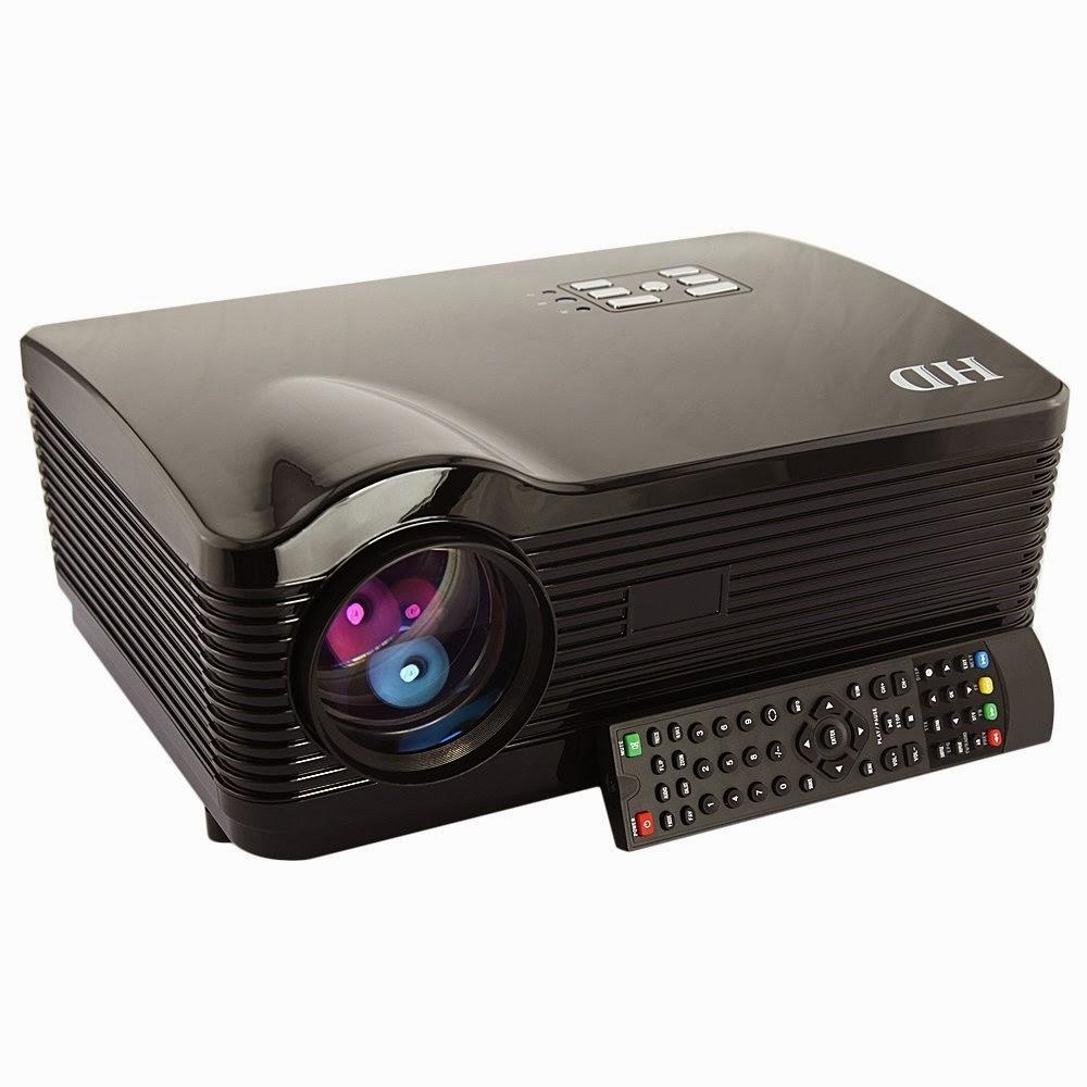 Top 3 hdmi usb 3d led multimedia hd 3000 lumen projector for Hd projector reviews