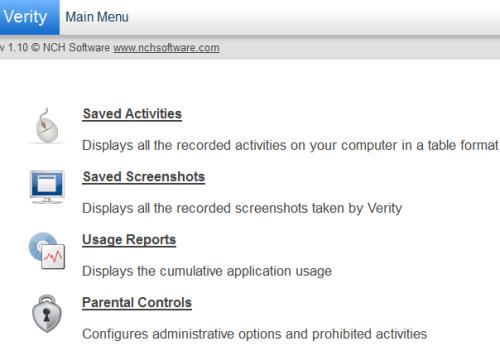 Verity Admin Monitor, Melacak dan Melindungi Aktivitas Internet Komputer