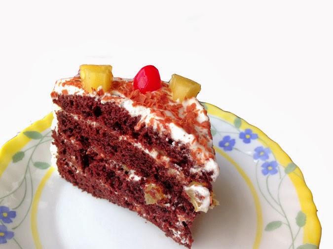 Choco Pineapple Cake