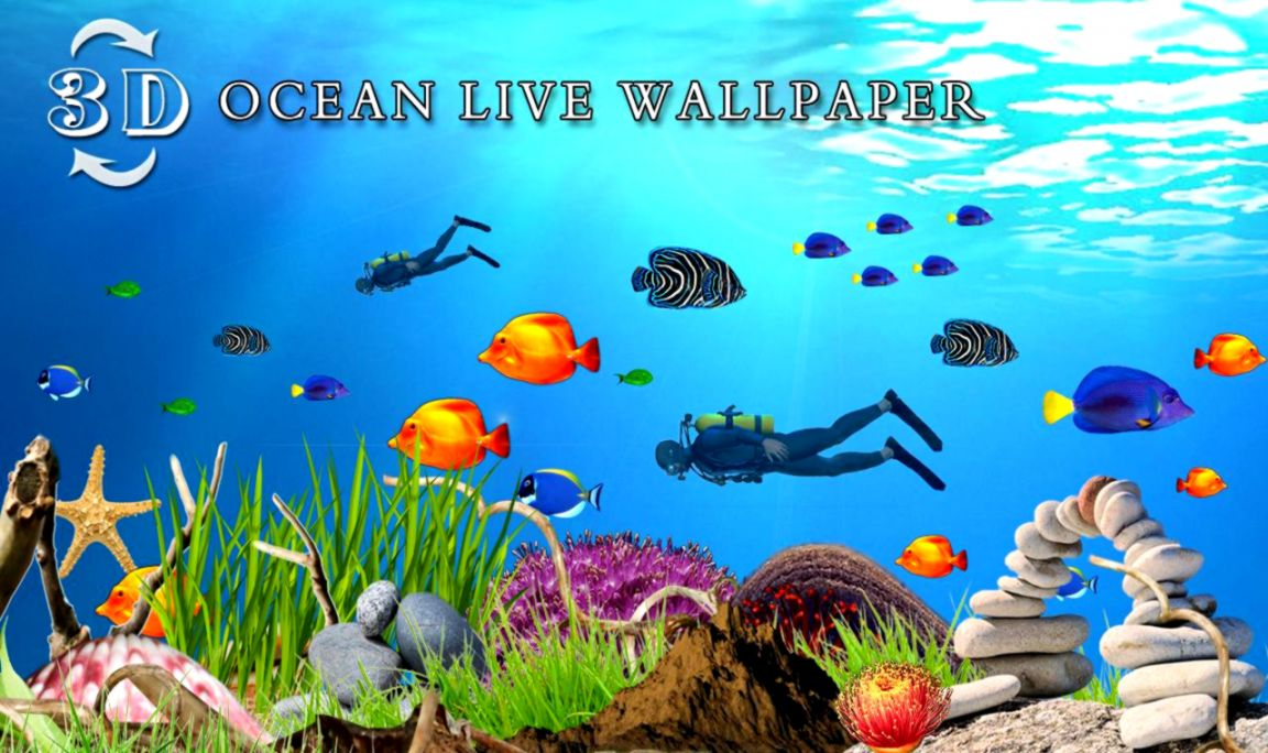 View Original Size Ocean Fish Live Wallpaper Android Apps On Google Play