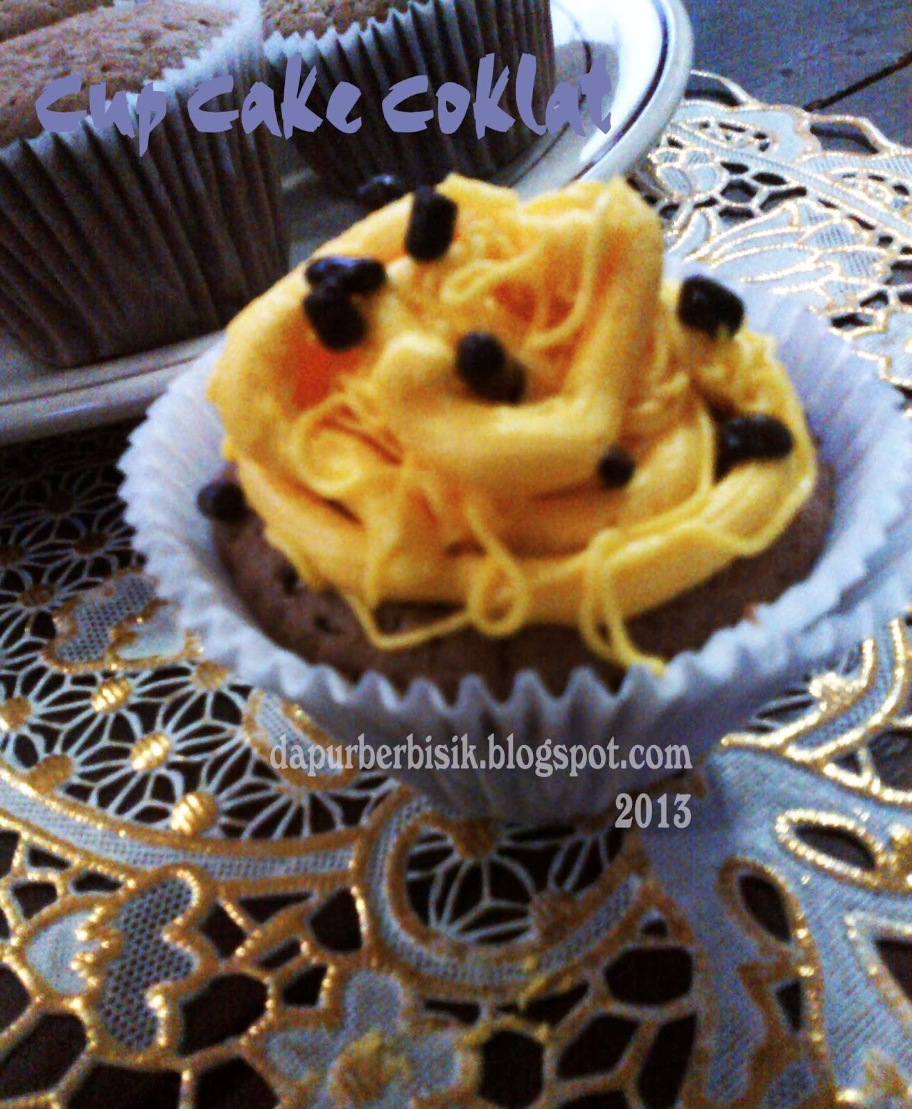 Resep Cup Cake Coklat Resep Cup Sponge Cake Coklat